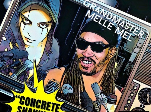 "[NEW MUSIC] JASON CHAOS- ""CONCRETE SHAKIN FT. GRANDMASTER MELLE MEL"